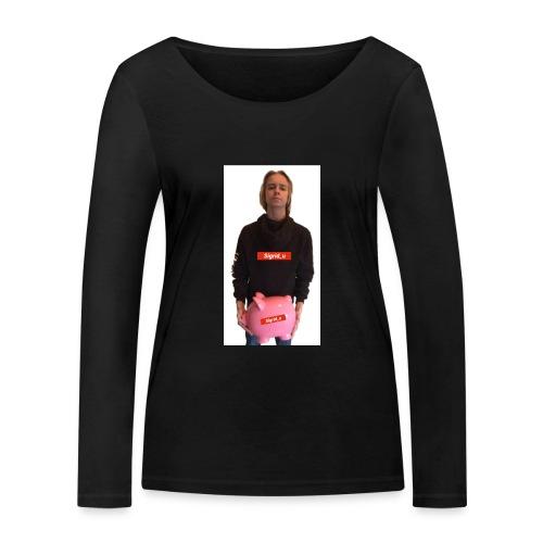 Sigrid_uPhotoTee - Økologisk langermet T-skjorte for kvinner fra Stanley & Stella