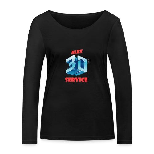 logo emporesa de impresion 3d en albacete - Camiseta de manga larga ecológica mujer de Stanley & Stella