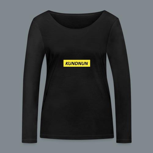 Kundnun official - Vrouwen bio shirt met lange mouwen van Stanley & Stella
