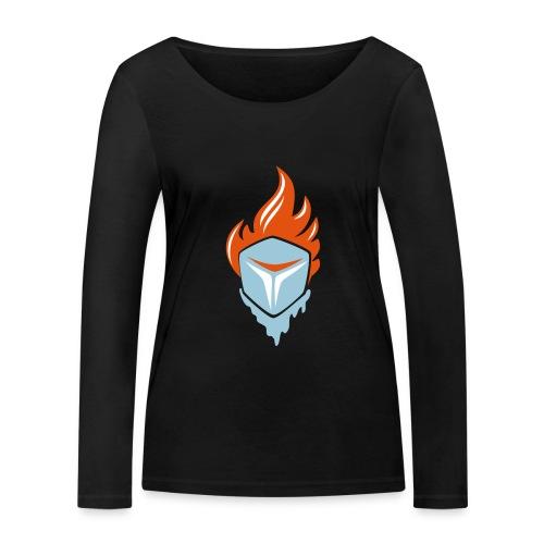 Fire and Ice 3C - Frauen Bio-Langarmshirt von Stanley & Stella