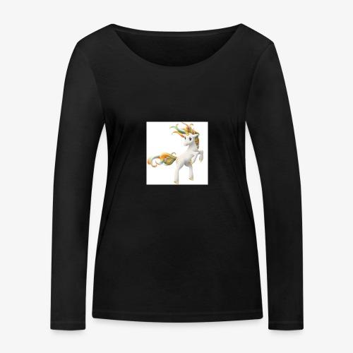 Love Unicorn - Frauen Bio-Langarmshirt von Stanley & Stella
