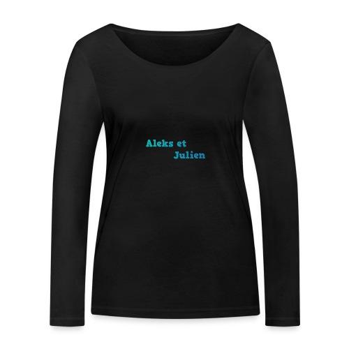 Notre logo - T-shirt manches longues bio Stanley & Stella Femme