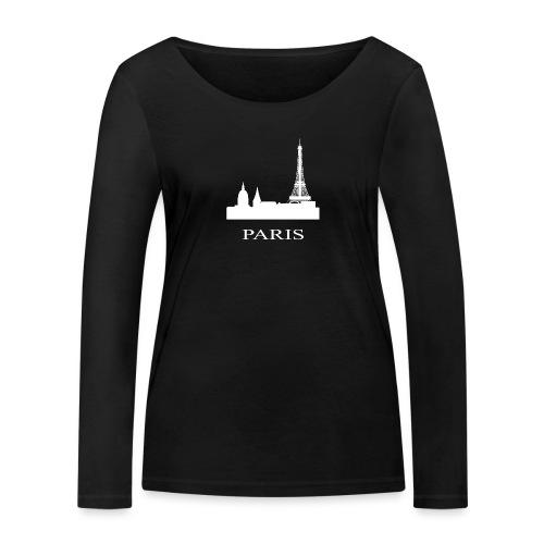 Paris, Paris, Paris, Paris, France - Women's Organic Longsleeve Shirt by Stanley & Stella