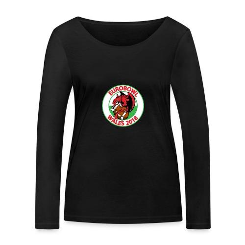 Eurobowl Wales 2018 - Women's Organic Longsleeve Shirt by Stanley & Stella