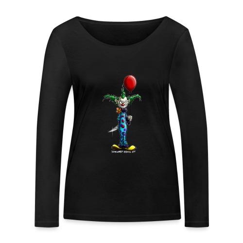 klaun tee - Ekologisk långärmad T-shirt dam från Stanley & Stella