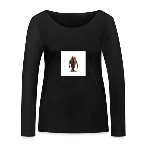 button hempel weiss - Frauen Bio-Langarmshirt von Stanley & Stella