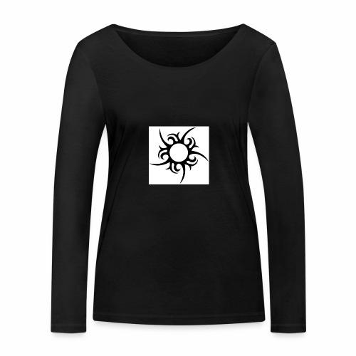 tribal sun - Women's Organic Longsleeve Shirt by Stanley & Stella