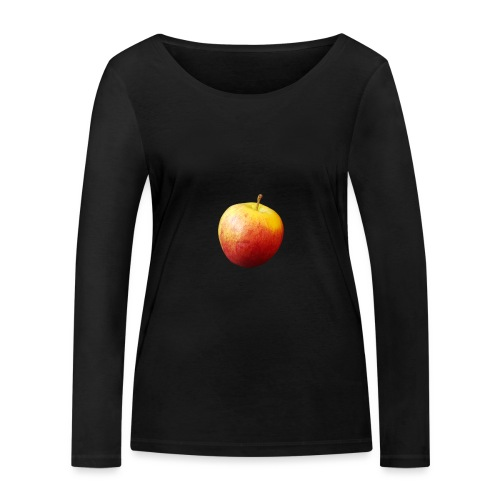 rood fruit met een naam - Vrouwen bio shirt met lange mouwen van Stanley & Stella