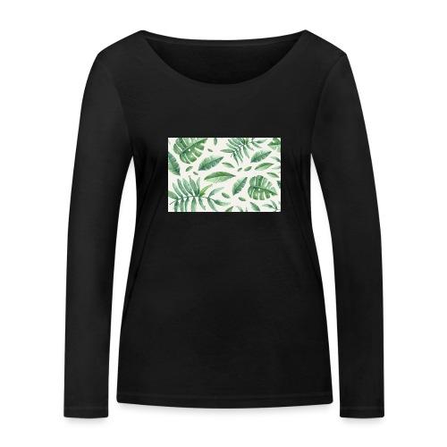 LEAVES - T-shirt manches longues bio Stanley & Stella Femme