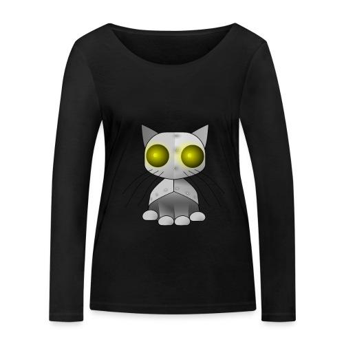 robotkatt - Women's Organic Longsleeve Shirt by Stanley & Stella