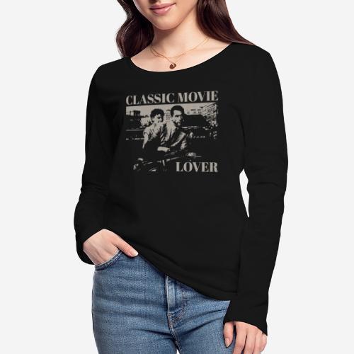 classic movie lover - Frauen Bio-Langarmshirt von Stanley & Stella