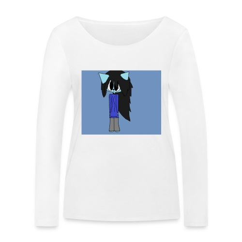 my cartoon self - Women's Organic Longsleeve Shirt by Stanley & Stella