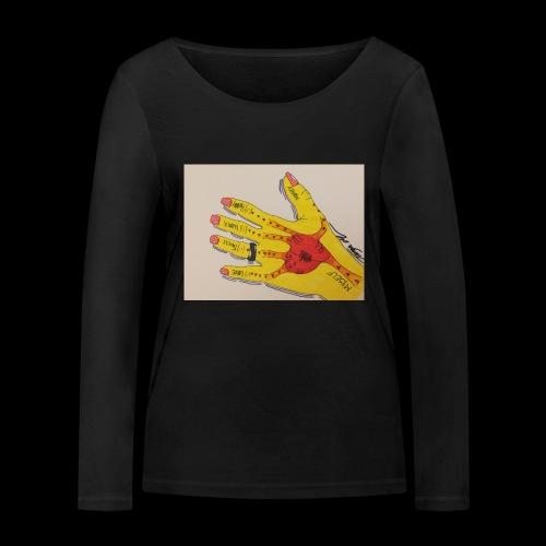 9D8D600F D04D 4BA7 B0EE 60442C72919B - Økologisk Stanley & Stella langærmet T-shirt til damer