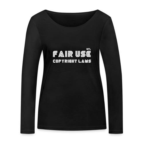 laws - Women's Organic Longsleeve Shirt by Stanley & Stella