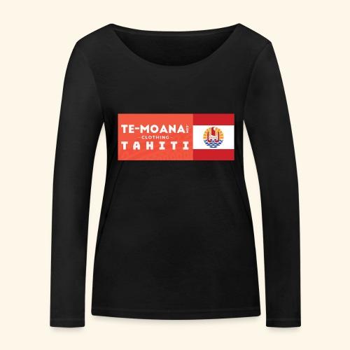 Te Moana Tahiti. Spirit of Sea, Land, Sky - Frauen Bio-Langarmshirt von Stanley & Stella