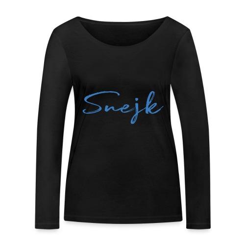 Snejk - Ekologisk långärmad T-shirt dam från Stanley & Stella