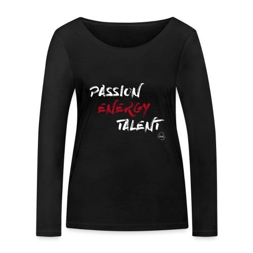 PASSION DANSE - T-shirt manches longues bio Stanley & Stella Femme