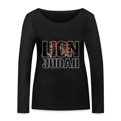 Sany O. Jesus - Lion of Judah - Frauen Bio-Langarmshirt von Stanley & Stella