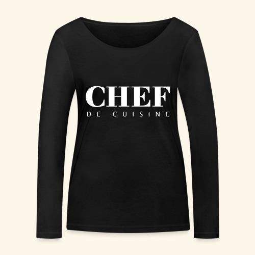 BOSS de cuisine - logotype - Women's Organic Longsleeve Shirt by Stanley & Stella