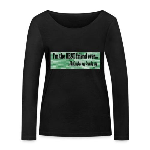 MOOD PHRASES - Camiseta de manga larga ecológica mujer de Stanley & Stella