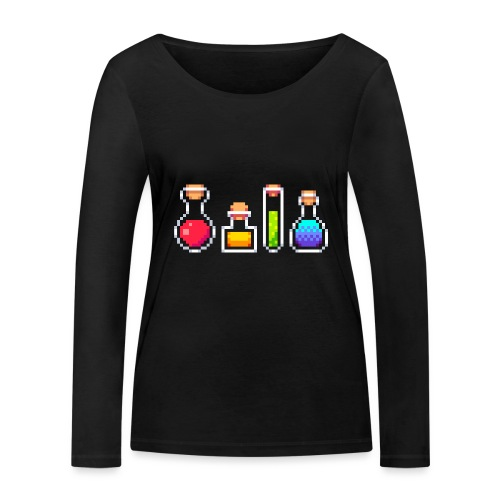 RPG Potions - Økologisk Stanley & Stella langærmet T-shirt til damer