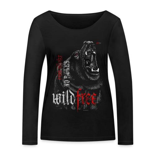 WILDFREE | BEAR - Frauen Bio-Langarmshirt von Stanley & Stella