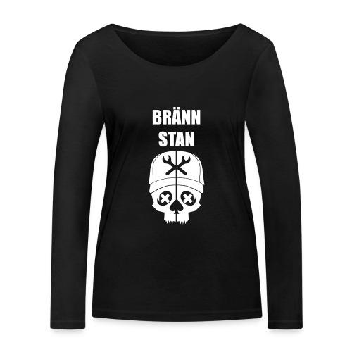 Bränn stan - Ekologisk långärmad T-shirt dam från Stanley & Stella