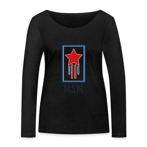 MSM SHOOTING STAR - Økologisk Stanley & Stella langærmet T-shirt til damer