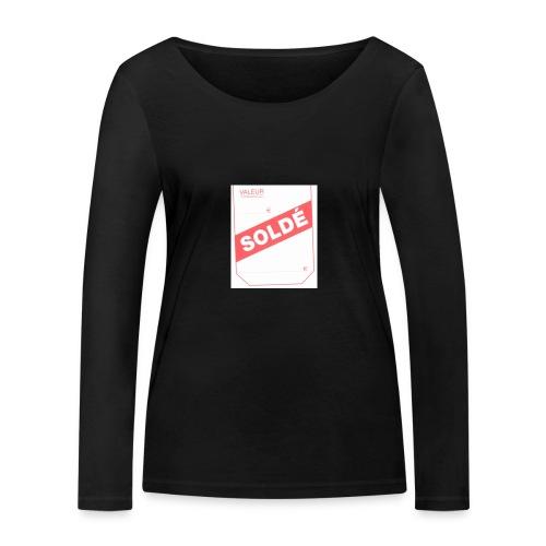 soldé - T-shirt manches longues bio Stanley & Stella Femme