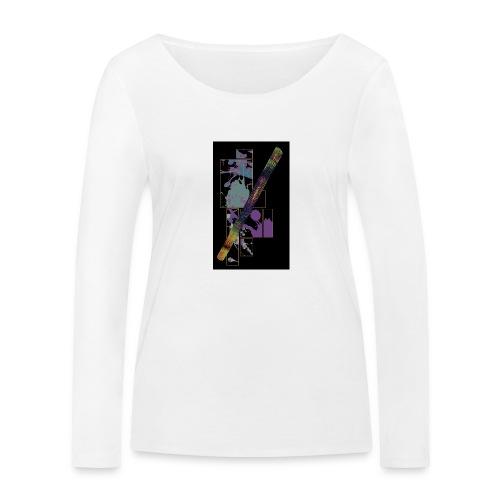 Circuito Trance music B jade - Women's Organic Longsleeve Shirt by Stanley & Stella