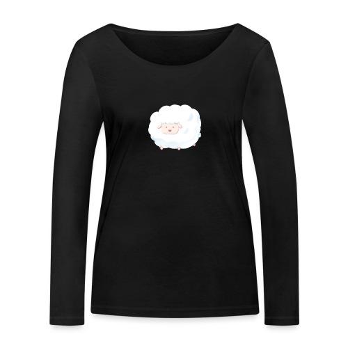 Sheep - Maglietta a manica lunga ecologica da donna di Stanley & Stella
