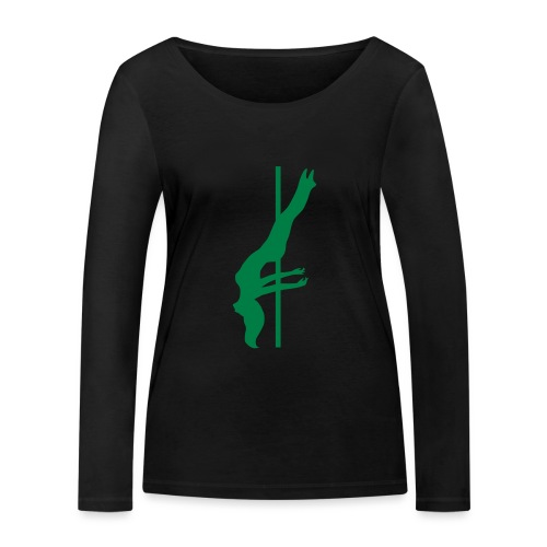 Pole Dance - Maglietta a manica lunga ecologica da donna di Stanley & Stella