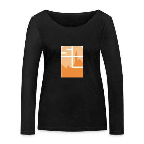 Logo-VZW-Sint-Lodewijk-jpg - Vrouwen bio shirt met lange mouwen van Stanley & Stella