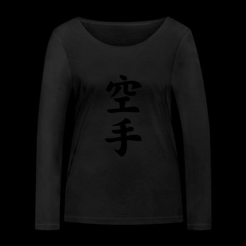 karate - Ekologiczna koszulka damska z długim rękawem Stanley & Stella