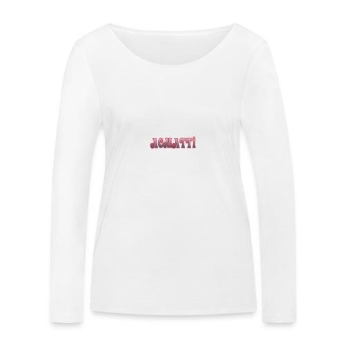 ACMATTI farverig - Økologisk Stanley & Stella langærmet T-shirt til damer