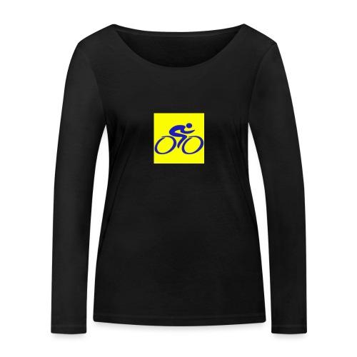 Tour de Epe Logo 2017 2018 1 png - Vrouwen bio shirt met lange mouwen van Stanley & Stella