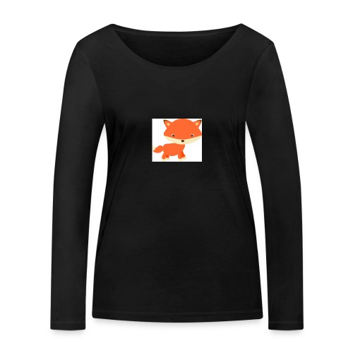 fox_1 - Vrouwen bio shirt met lange mouwen van Stanley & Stella