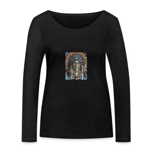 jefe indio - Camiseta de manga larga ecológica mujer de Stanley & Stella