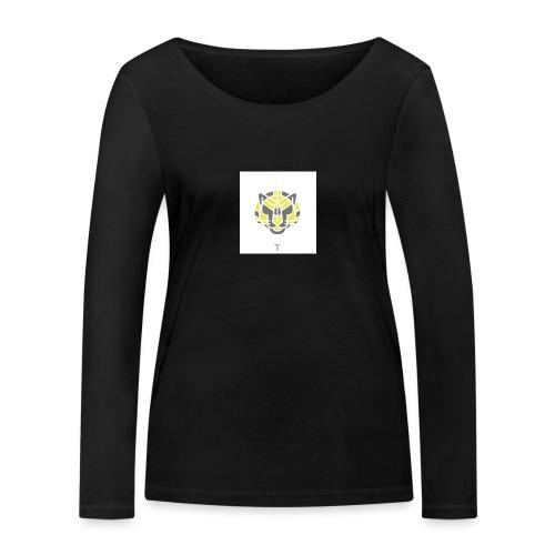 Tiger fra jungle - Økologisk Stanley & Stella langærmet T-shirt til damer