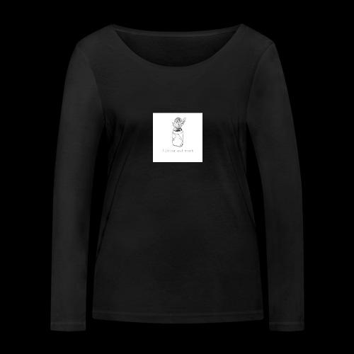 l'amour est mort - T-shirt manches longues bio Stanley & Stella Femme