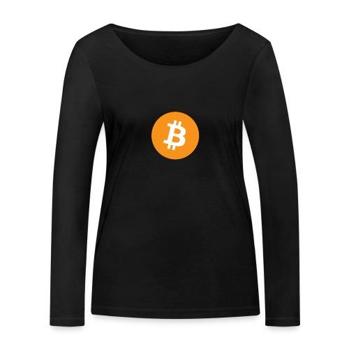 Bitcoin - Vrouwen bio shirt met lange mouwen van Stanley & Stella