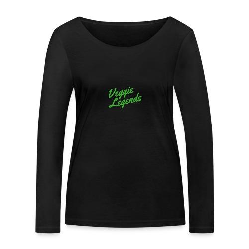 Veggie Legends - Women's Organic Longsleeve Shirt by Stanley & Stella