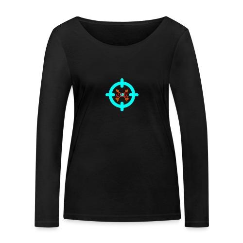 Targeted - Women's Organic Longsleeve Shirt by Stanley & Stella
