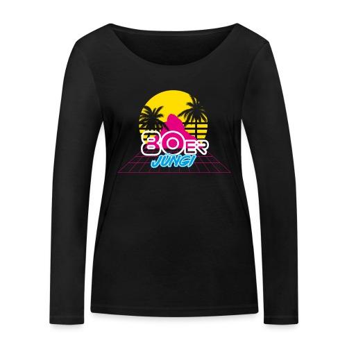 80er JÜNGI - Frauen Bio-Langarmshirt von Stanley & Stella