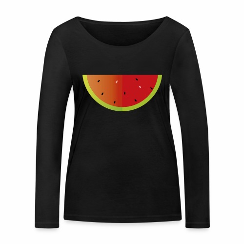 Sandia - Camiseta de manga larga ecológica mujer de Stanley & Stella