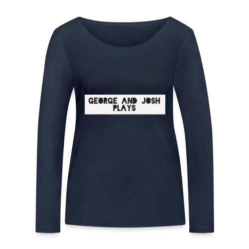 George-and-Josh-Plays-Merch - Women's Organic Longsleeve Shirt by Stanley & Stella