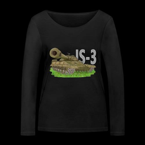 IS-3 (Writing) - Maglietta a manica lunga ecologica da donna di Stanley & Stella