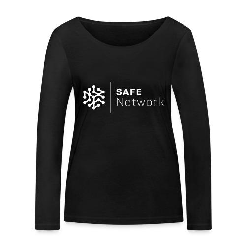 safenetwork logo mono - Women's Organic Longsleeve Shirt by Stanley & Stella