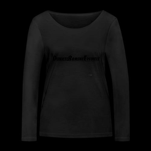 Dunkelbraune Eisdiele Black - Frauen Bio-Langarmshirt von Stanley & Stella