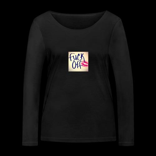 F... Off - Frauen Bio-Langarmshirt von Stanley & Stella